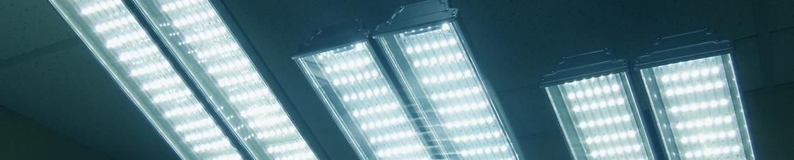 Каждый светильник проходит многочасовое испытание включением